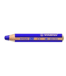 880/385  farbička fialová Stabilo WOODY 3 v 1