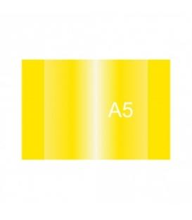 Obal na zošit A5 žltý