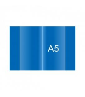 Obal na zošit A5 modrý 150 µm