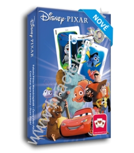Hracie karty kvarteto + pexeso Disney Pixar