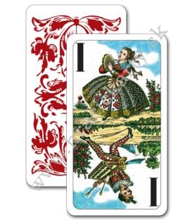 Hracie karty mariáš taroky