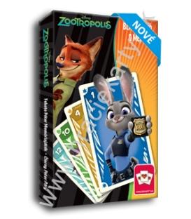 Hracie karty kvarteto + pexeso Zootropolis