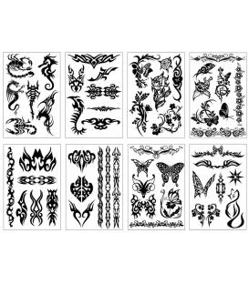 Tetovačky Tattoos čierne