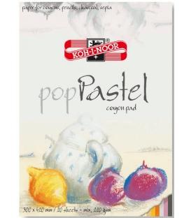 9920 Výkresník skicár POP Pastel biely 420 x 300 x 9 mm 20 listový