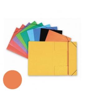 Mapa 253 prešpán/guma oranžová HIT