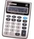 Kalkulačka stolová 12-miestny displej šedá