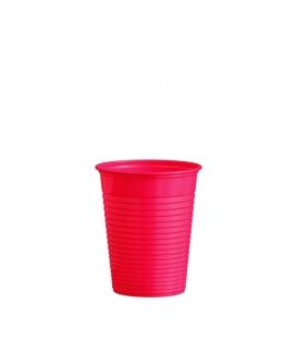 Plastový pohár 180 ml červený - balenie 10 ks