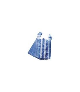 Taška 25+12x45 4kg mikroténová pruhovaná 100ks/blok