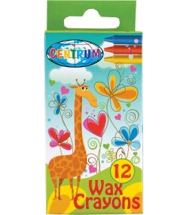 Voskovky 12-farebné s motívom Giraffe