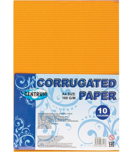 Papier vlnitý A4 160g 10ks