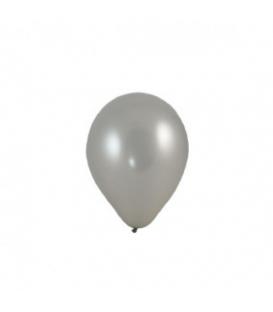 Strieborné balóny M 100 kusov