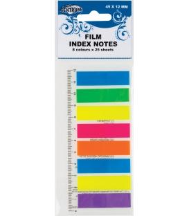Index 45x12mm, NEON 8-far. x 25ks