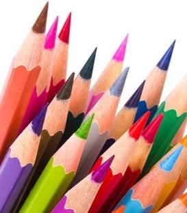Farbičky a pastelky