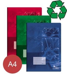 Zošity z recyklovaného papiera A4
