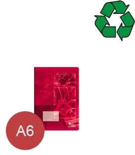 Zošity z recyklovaného papiera A6
