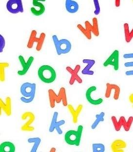 Samolepky - čísla a písmená